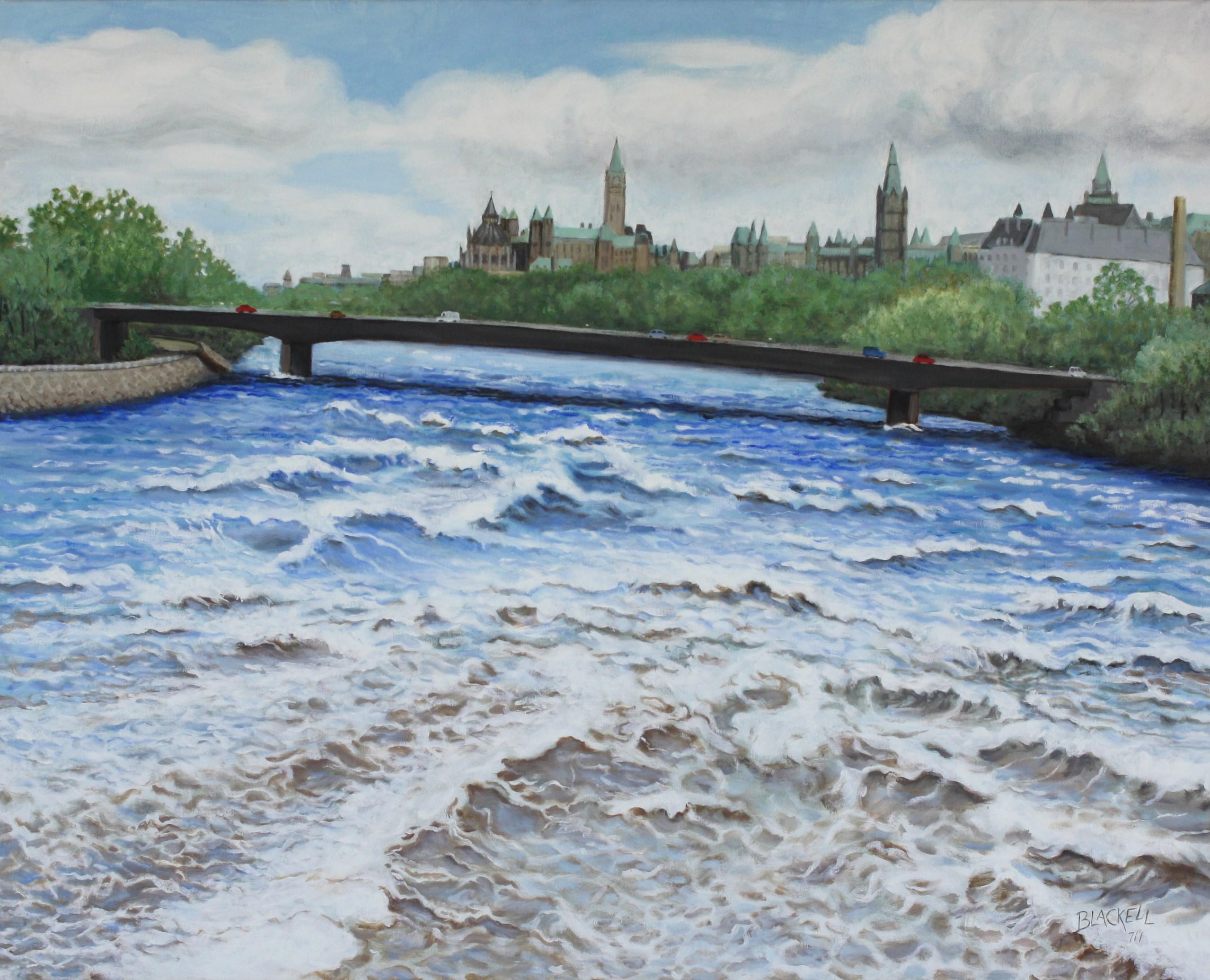 """Chaudière Rapids/ oil/ size 24"""" x 30"""""""