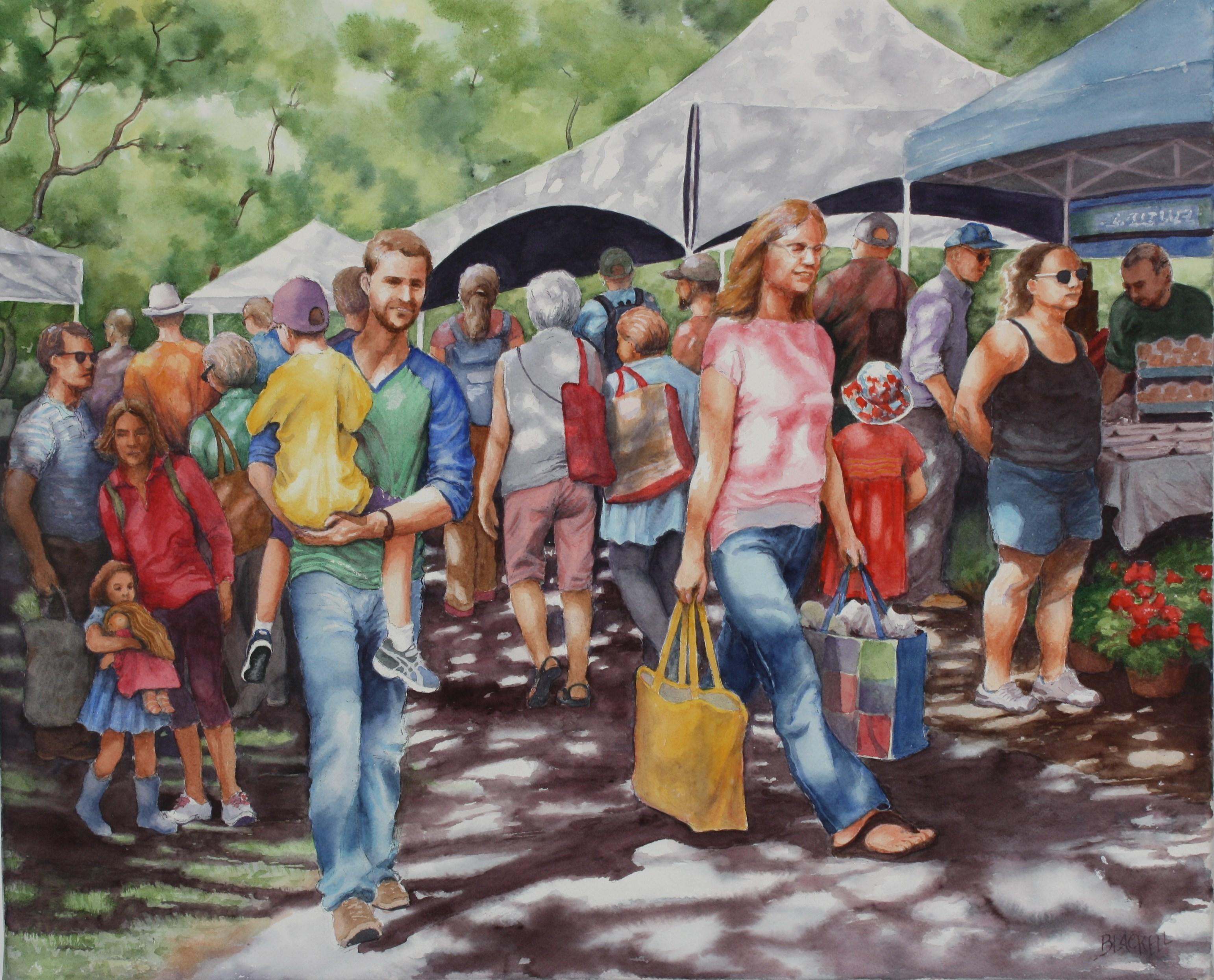 Sunny Market Day